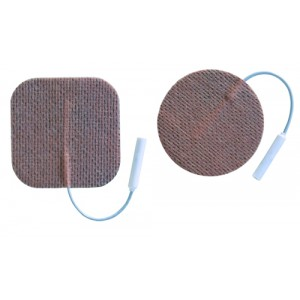 Electrodes First Choice 2000 2 Round Cloth Pigtail Pack/4