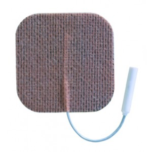 Electrodes First Choice(3165F) 2 Square Foam Pigtail Pack/4