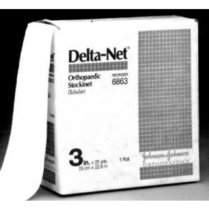 Delta-Net Stockinet 2 X 25 Yards (2/Case)