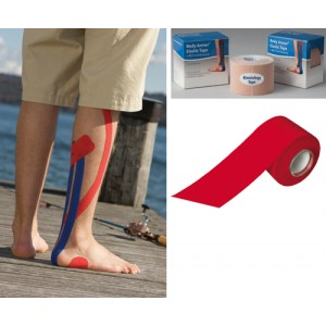 Kinesiology Tape 2 x 15ft Red