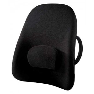Lowback Backrest Support Obusforme Black (Bagged)