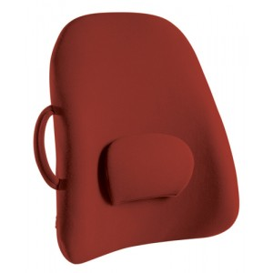 Lowback Backrest Support Obusforme Burgundy (Bagged)