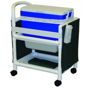 Hydration Ice Chest With Cart 31 L x 20 W x 37.5 H