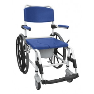 Shower/Commode Rehab Chair Aluminum