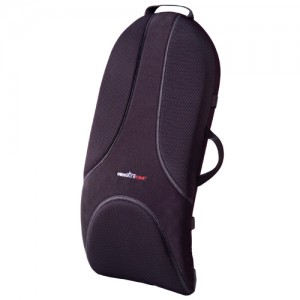 Ultra Premium Backrest Support Obusforme Medium Black