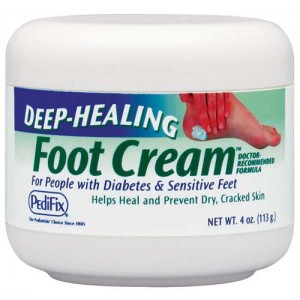 Deep Healing Foot Cream 4oz Jar