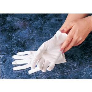 Carex Soft Hands Cotton Gloves Small/Medium (Box/6 pair)
