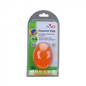 Hand Squeeze Egg Firm Orange
