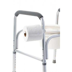 Universal Toilet Paper Holder for Commodes