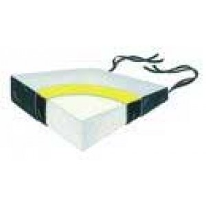 Wheelchair Wedge Foam With Vinyl& Polyesther Cover 18 x16 x6 x3