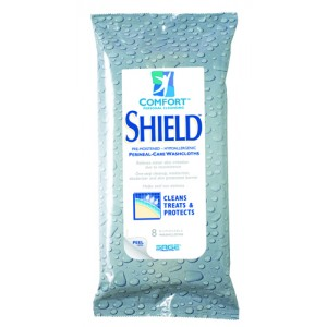 Comfort Shield With Dimethicone Pack/8