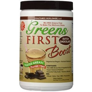 Greens First Boost - Chocolate, 10.5oz